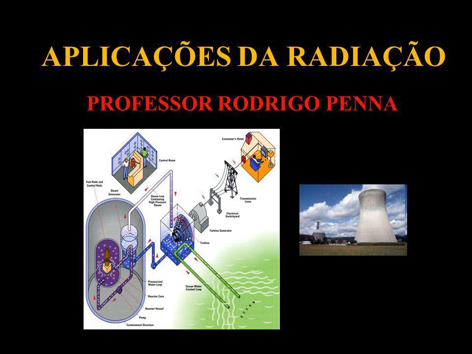 APLICAÇÕES DA RADIAÇÃO PROFESSOR RODRIGO PENNA