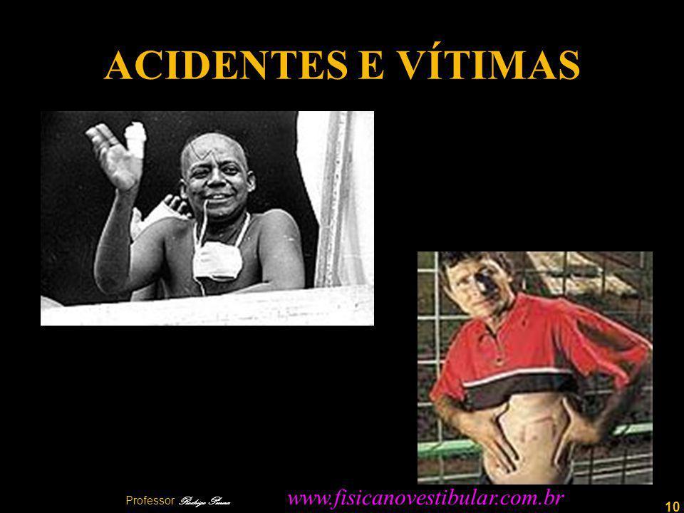 10 ACIDENTES E VÍTIMAS Professor Rodrigo Penna www.fisicanovestibular.com.br