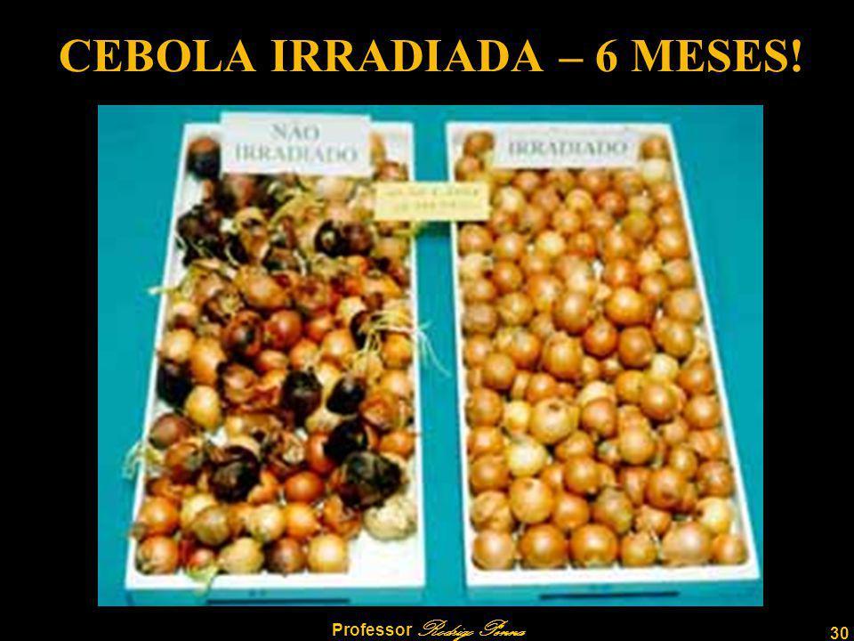 30 Professor Rodrigo Penna CEBOLA IRRADIADA – 6 MESES!