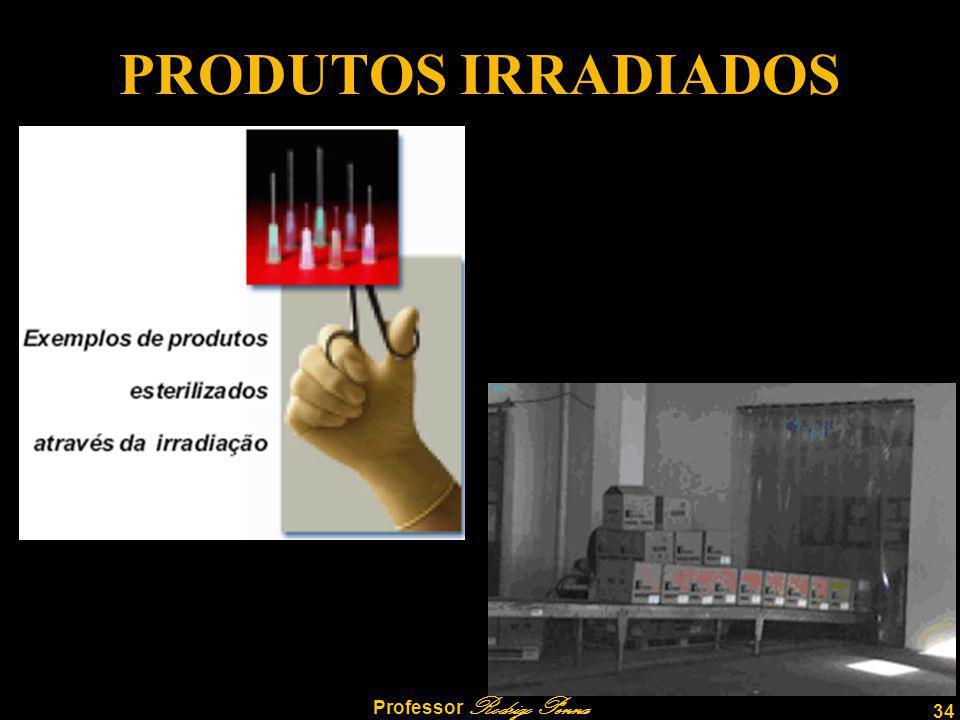 34 Professor Rodrigo Penna PRODUTOS IRRADIADOS