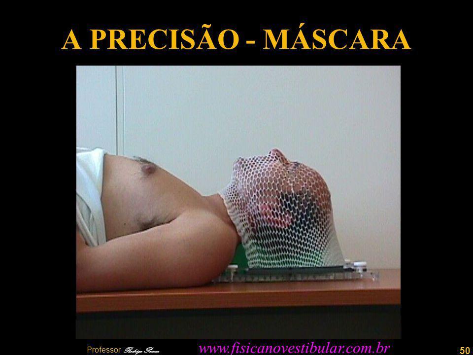 50 A PRECISÃO - MÁSCARA Professor Rodrigo Penna www.fisicanovestibular.com.br