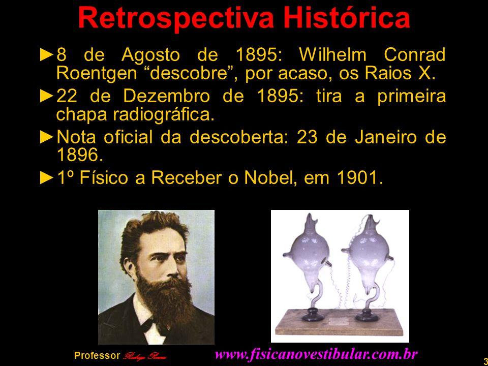 4 Professor Rodrigo Penna PRIMEIRAS RADIOGRAFIAS
