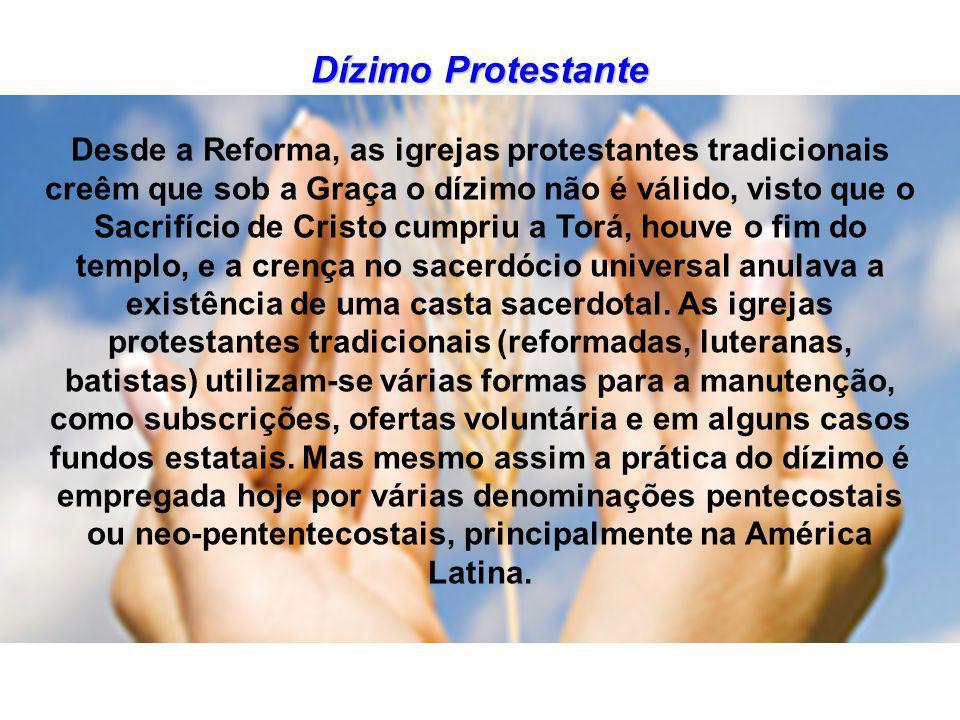 DÍZIMO NO CATOLICISMO BRASILEIRO No Brasil o dízimo voltou a ser implantado pela CNBB na Igreja Católica após 1969, quando o sistema de pagamento de taxas pelos serviços prestados pela Igreja haviam sido considerados pastoralmente inadequados .