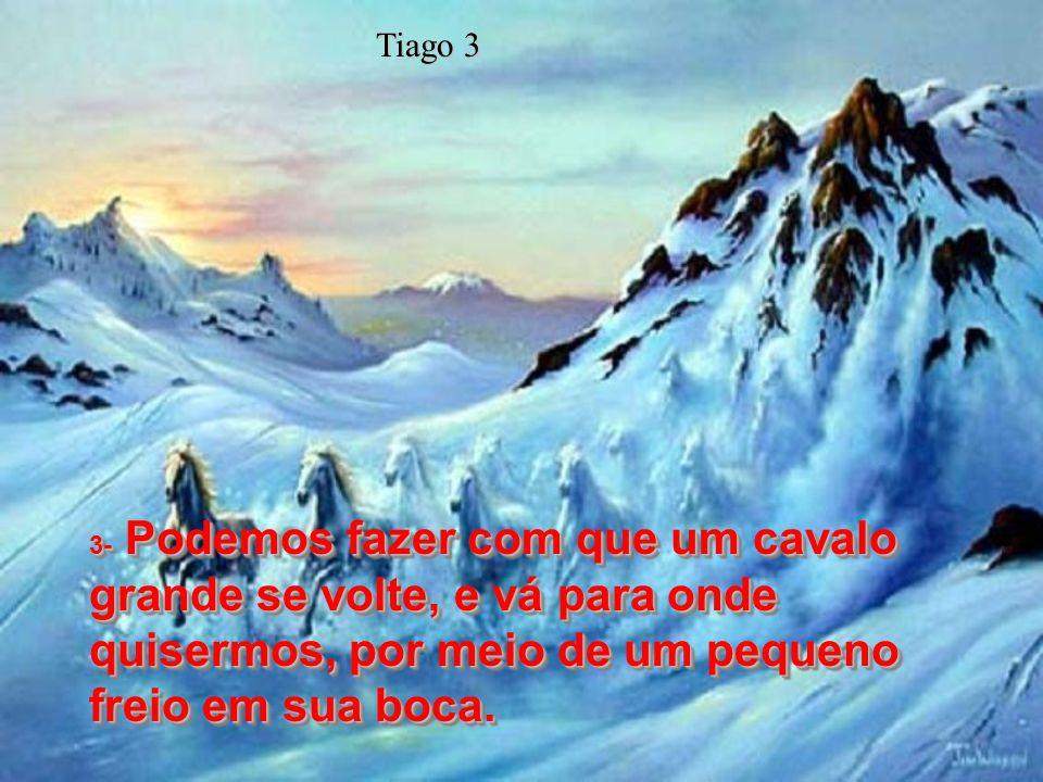Os pecados da língua e o dever de refreá-la Versos 1 a 12 Os pecados da língua e o dever de refreá-la Versos 1 a 12 1e2- Queridos irmãos, não sejam mu
