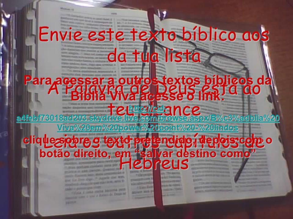 FIM Do capítulo 6 Leia a continuação deste assunto no capítulo 7