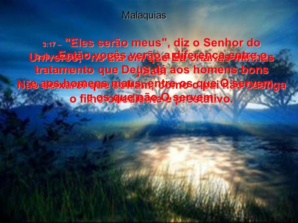 Malaquias 3:8 –