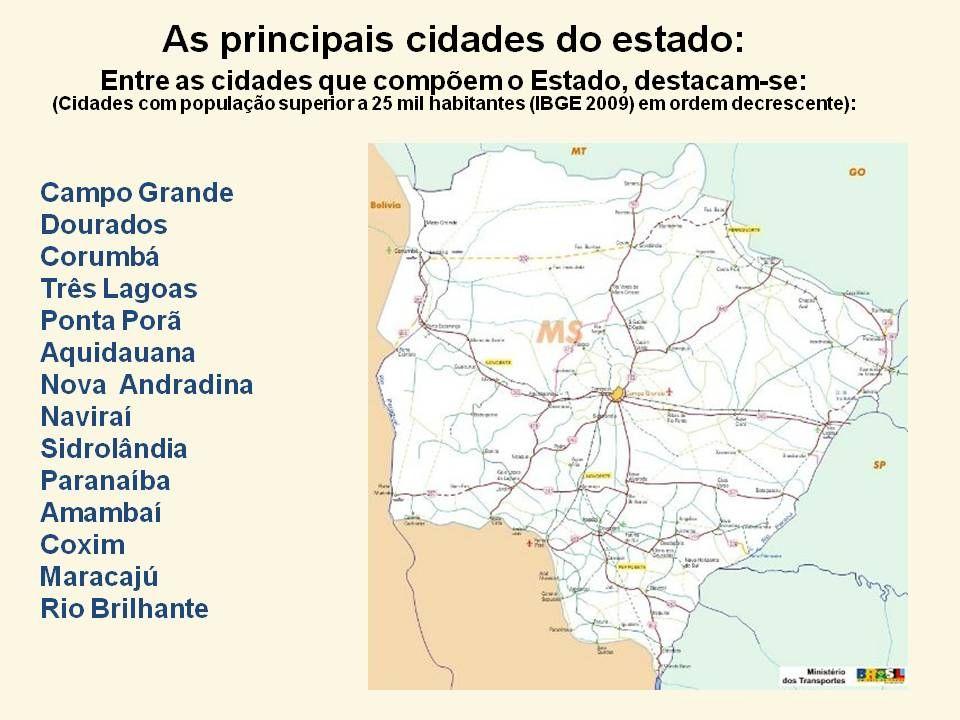 O planalto da bacia do Paraná ocupa toda a porção leste do estado. Constitui uma projeção do planalto Meridional, grande unidade de relevo que domina