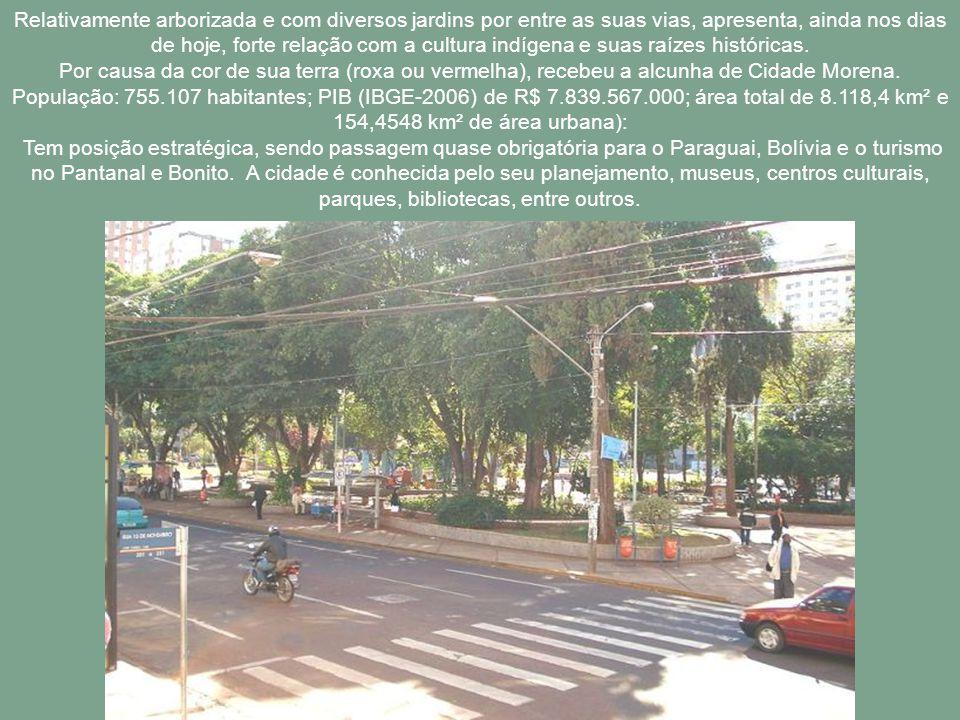 Campo Grande, antes do desmembramento, já era considerada a maior cidade do estado de Mato Grosso. Após a divisão, continua sendo a maior cidade de Ma