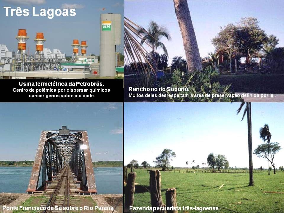 Situada em um entroncamento das malhas viária, fluvial e ferroviária do Brasil, possui acesso privilegiado às regiões Centro-Oeste, Sudeste e Sul do p