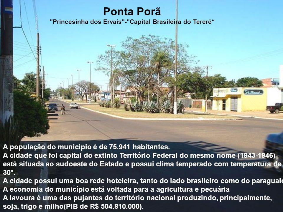 Entre várias opções, pode-se fazer compras no Paraguai. Ponta Porã