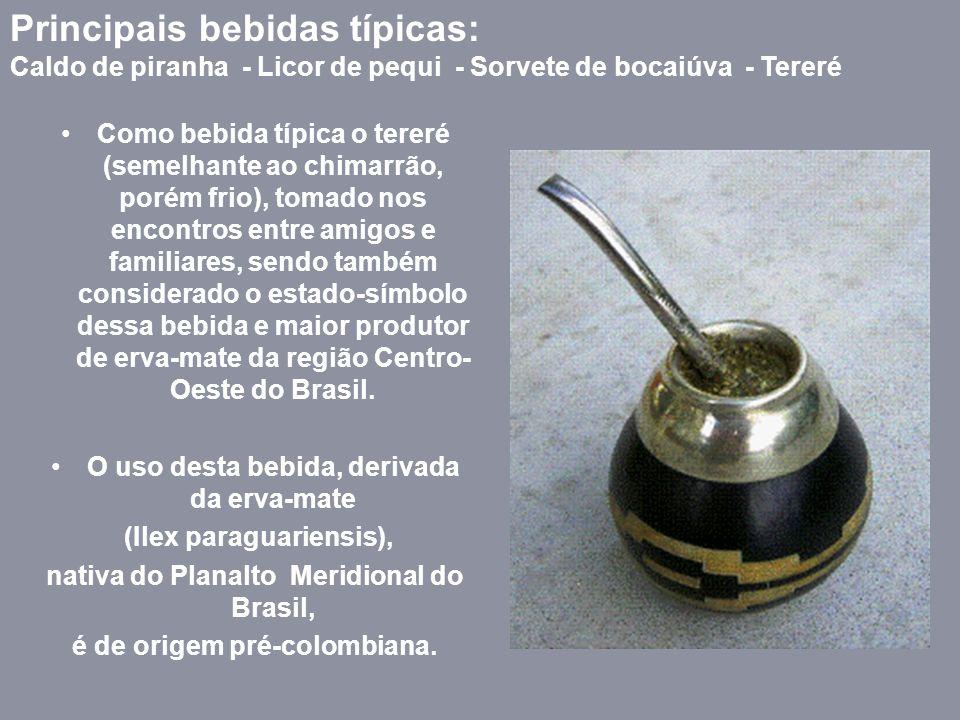 Comidas Típicas de Mato Grosso do Sul A culinária é semelhante ao de Mato Grosso, até porque o estado era um só e aos poucos tanto na cultura, costume