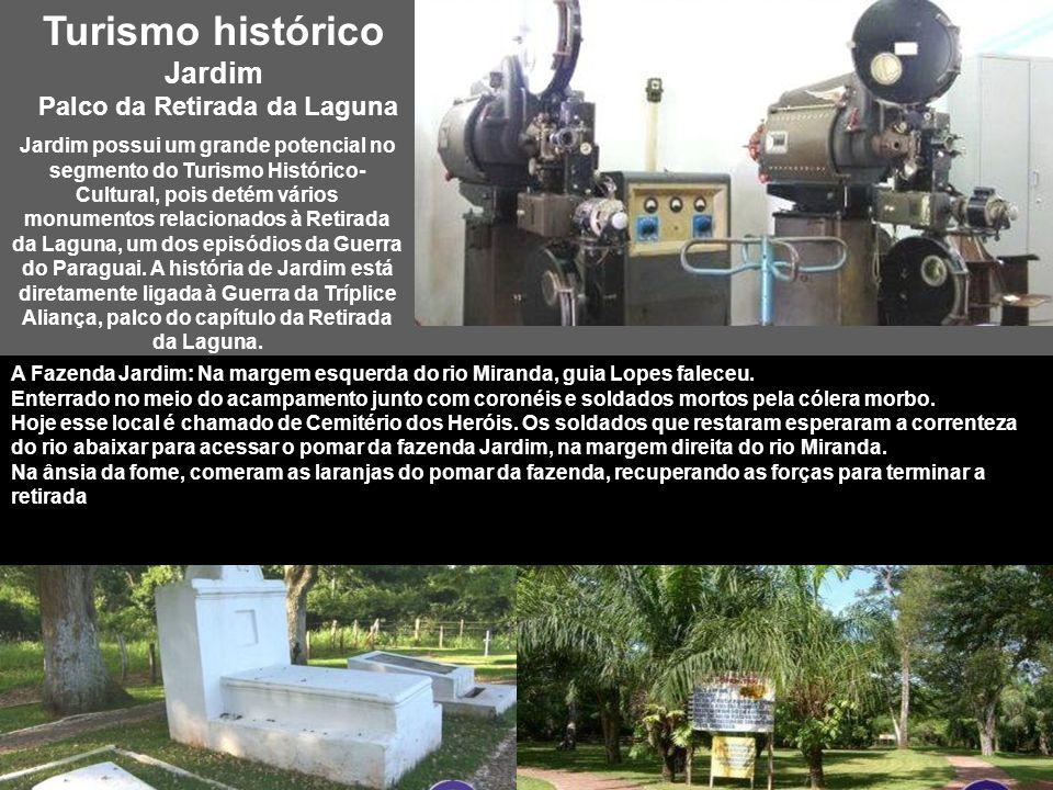 Jardim – MS, turismo ecológico e histórico O município de Jardim, antigo distrito de Bela Vista, pertence a micro-região Homogênea 341 (MRG), denomina