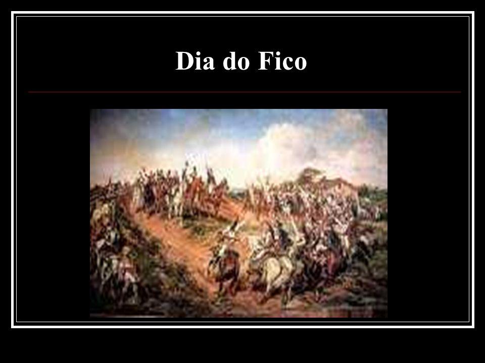 Em 9 de janeiro de 1822, D.