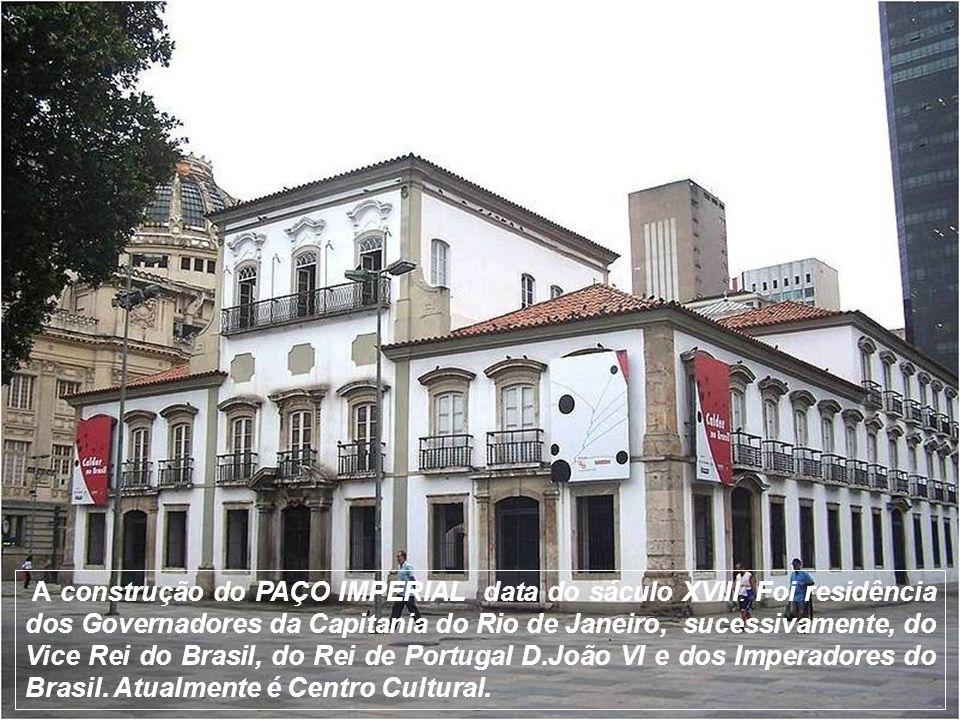 O CONVENTO DO CARMO começou a ser construído em 1619. Atualmente faz parte da Universidade Cândido Mendes.