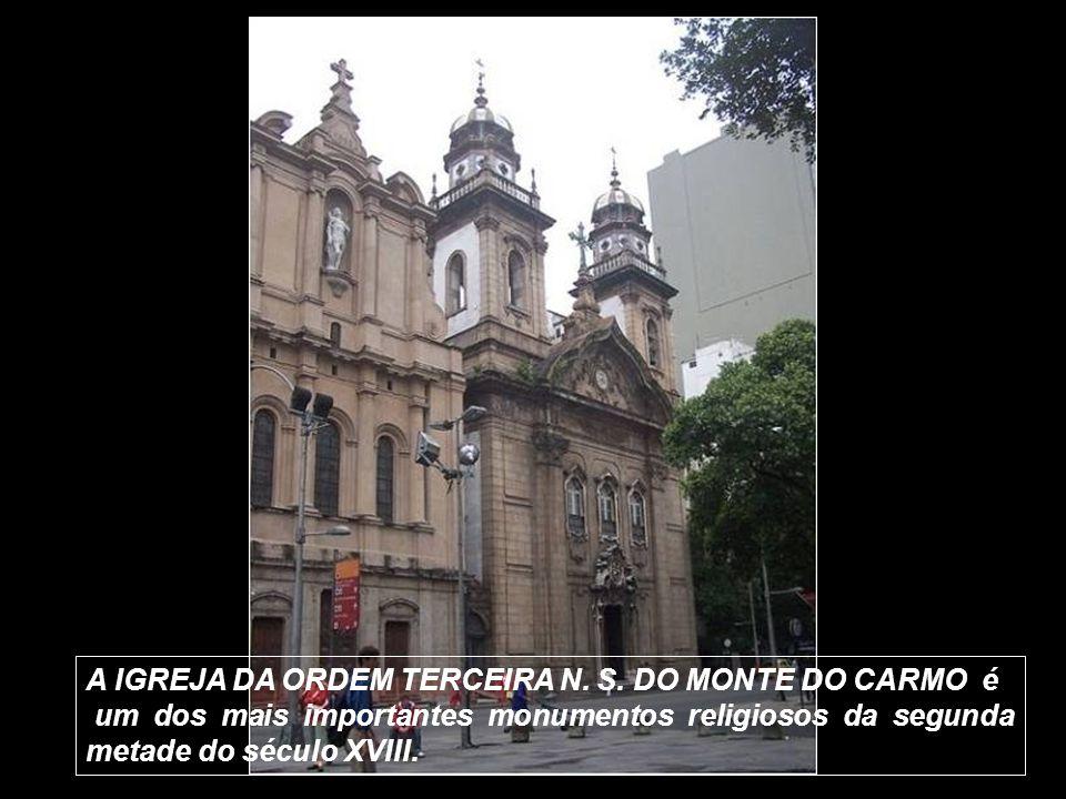 Igreja N. S. do Carmo – Interior