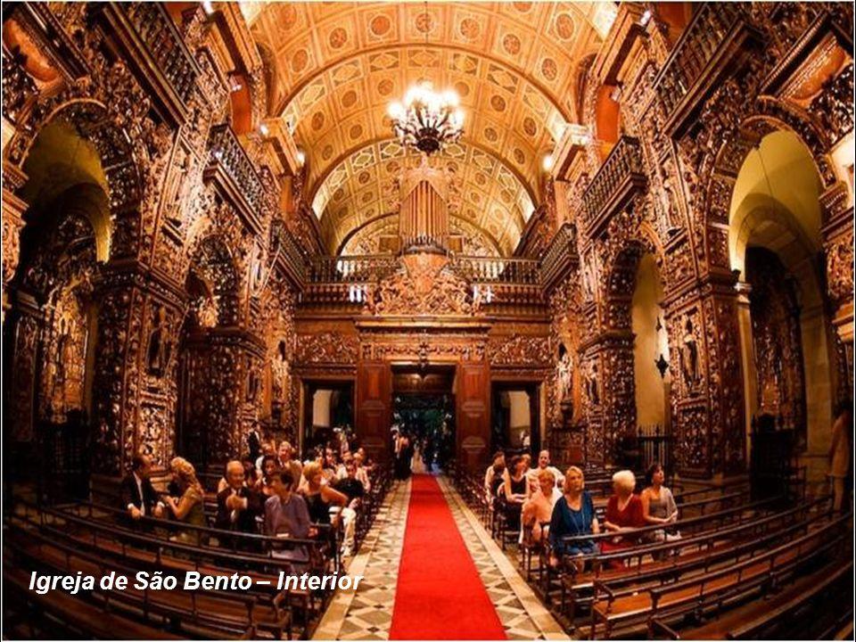 O MOSTEIRO e a IGREJA DE SÃO BENTO foram fundados por monges beneditinos vindos da Bahia em 1590..