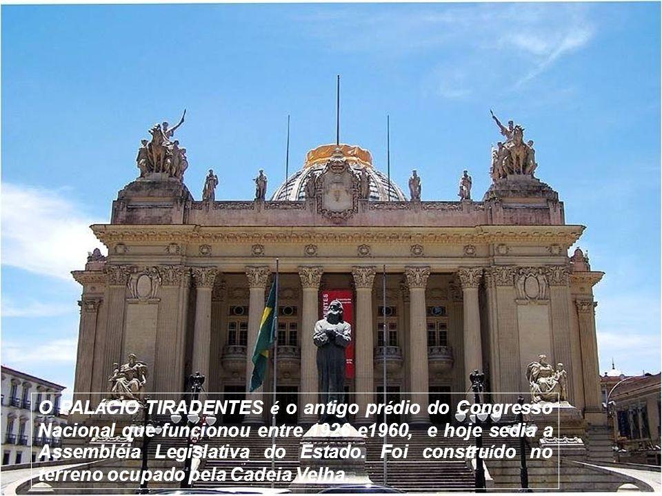 A IGREJA NOSSA SENHORA DO BOM SUCESSO é uma das mais antigas do Rio..