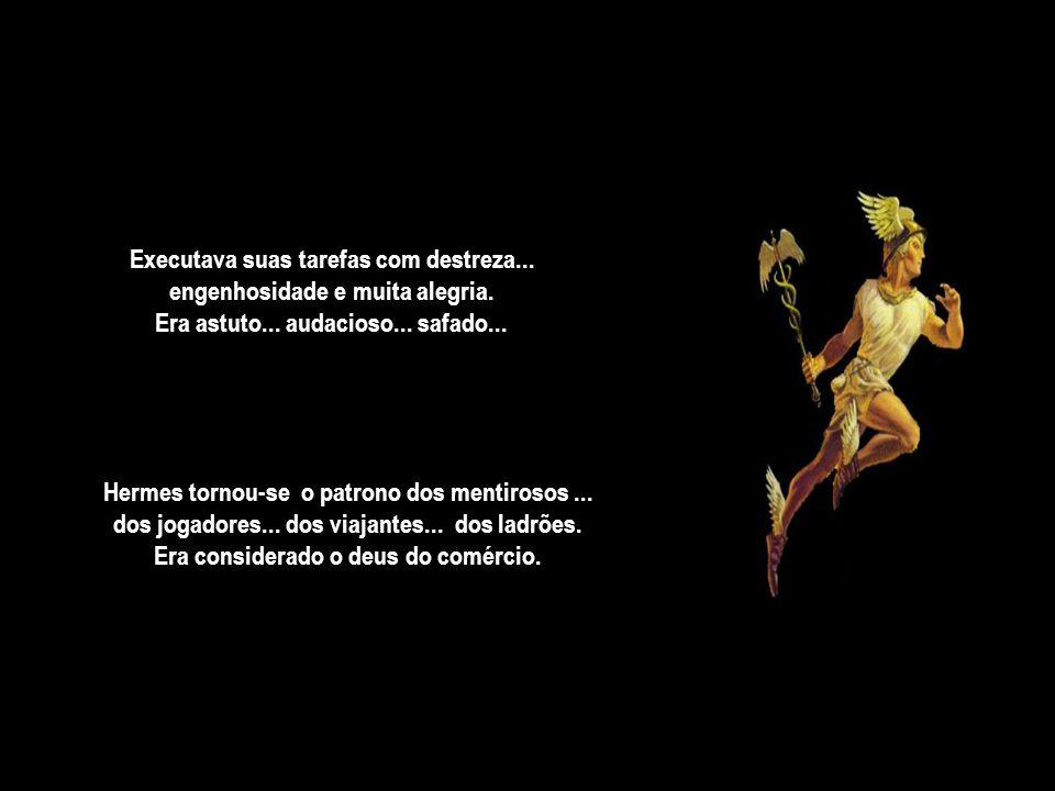 Hermes (Mercúrio) na mitologia grega...era muito precoce...