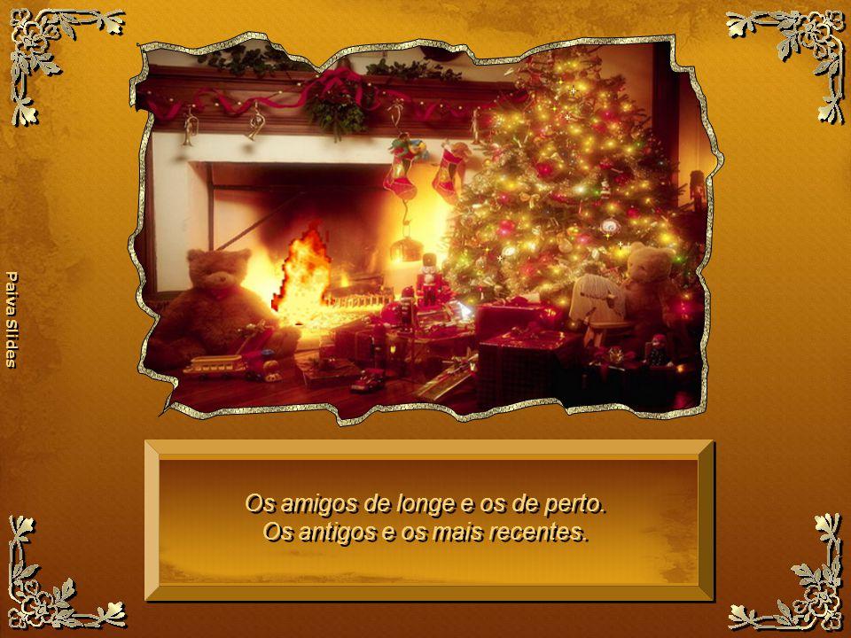 Paiva Slides Que o natal esteja vivo em cada dia do ano novo que se inicia, para que as luzes e cores da vida estejam presentes em toda a nossa existência e concretizem, com a ajuda de Deus, todos os nossos desejos.