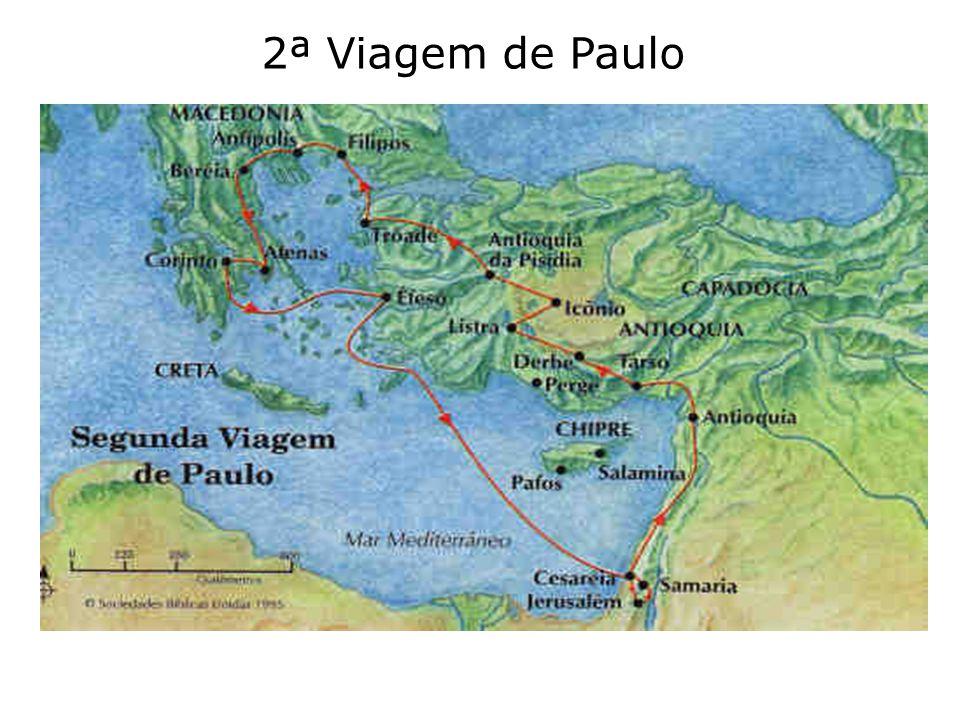 2ª Viagem de Paulo
