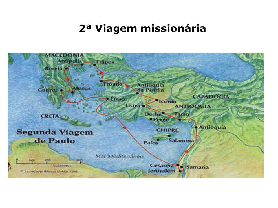 2ª Viagem missionária
