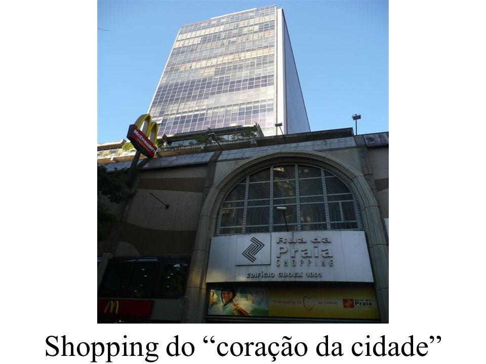 Shopping do coração da cidade