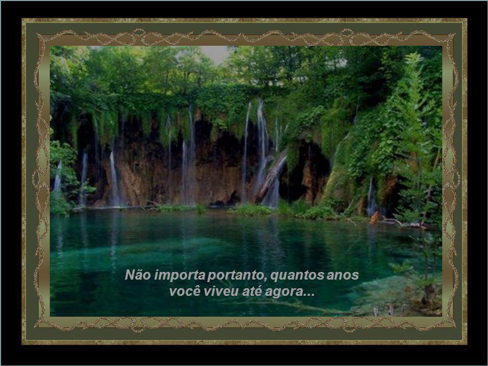São estas mesma águas o dia-a-dia, que vivemos – as que dão testemunho ao céu, aos vales e às montanhas, a Deus, aos amigos, aos homens deste mundo, que o rio correu muito mas não envelheceu.