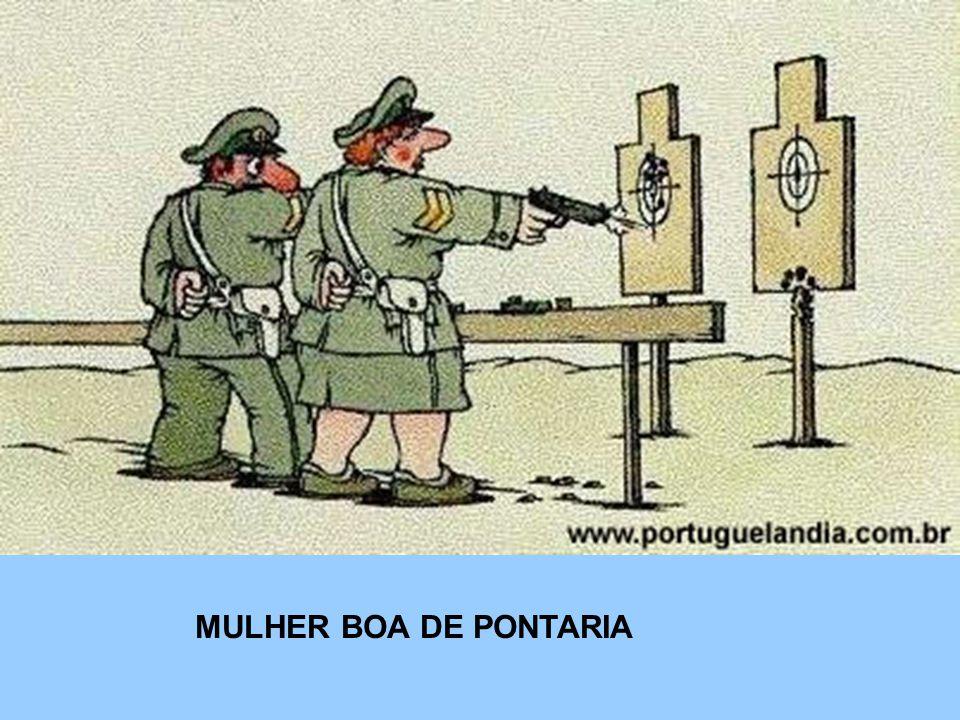 MULHER BOA DE PONTARIA