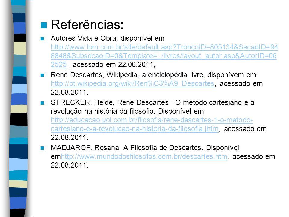 Referências: Autores Vida e Obra, disponível em http://www.lpm.com.br/site/default.asp?TroncoID=805134&SecaoID=94 8848&SubsecaoID=0&Template=../livros