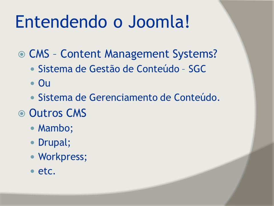 Plug-in do Joomla.