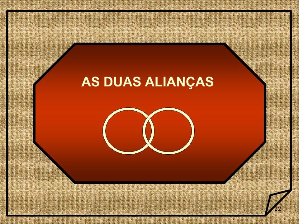22 AS DUAS ALIANÇAS