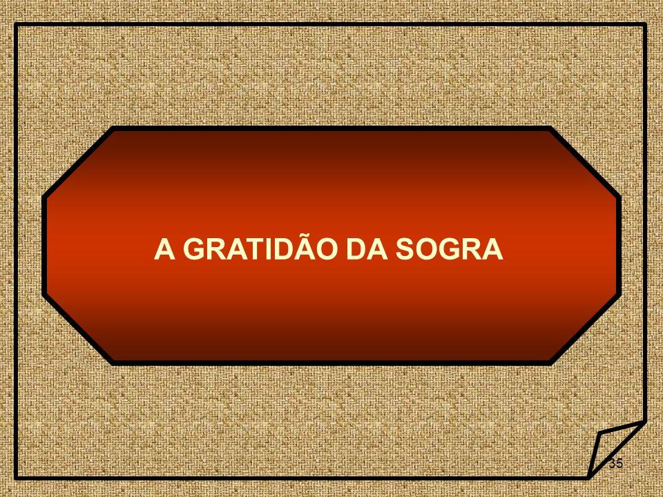 35 A GRATIDÃO DA SOGRA