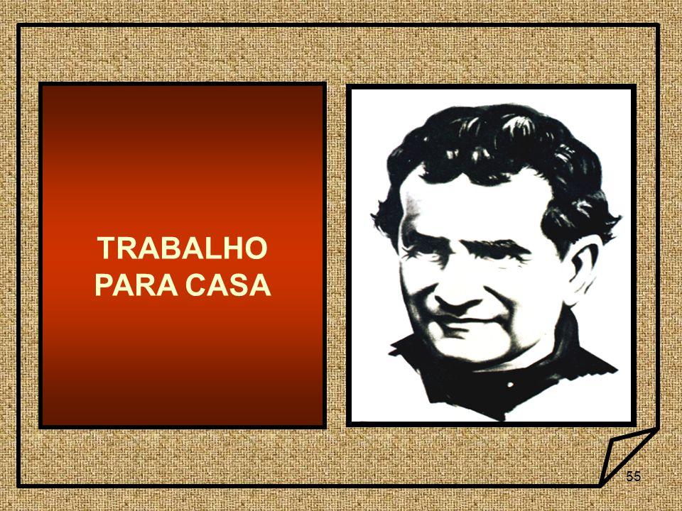 55 TRABALHO PARA CASA