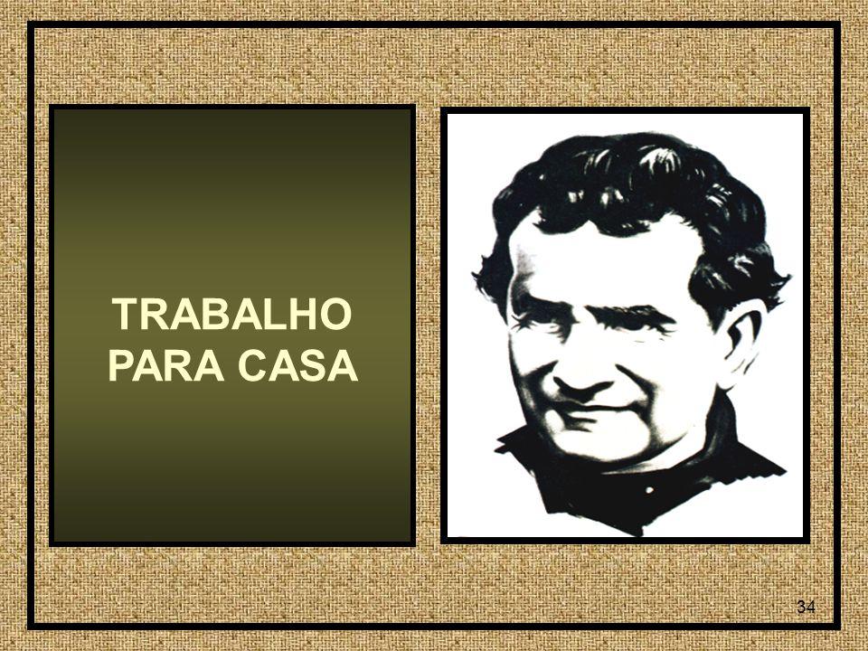 34 TRABALHO PARA CASA