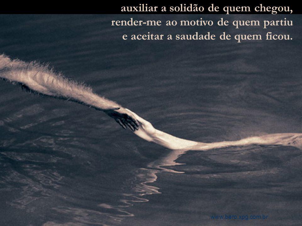 respeitar incondicionalmente o ser; o ser por si só, por mais nada que possa ter além de sua essência, www.bero.xpg.com.br