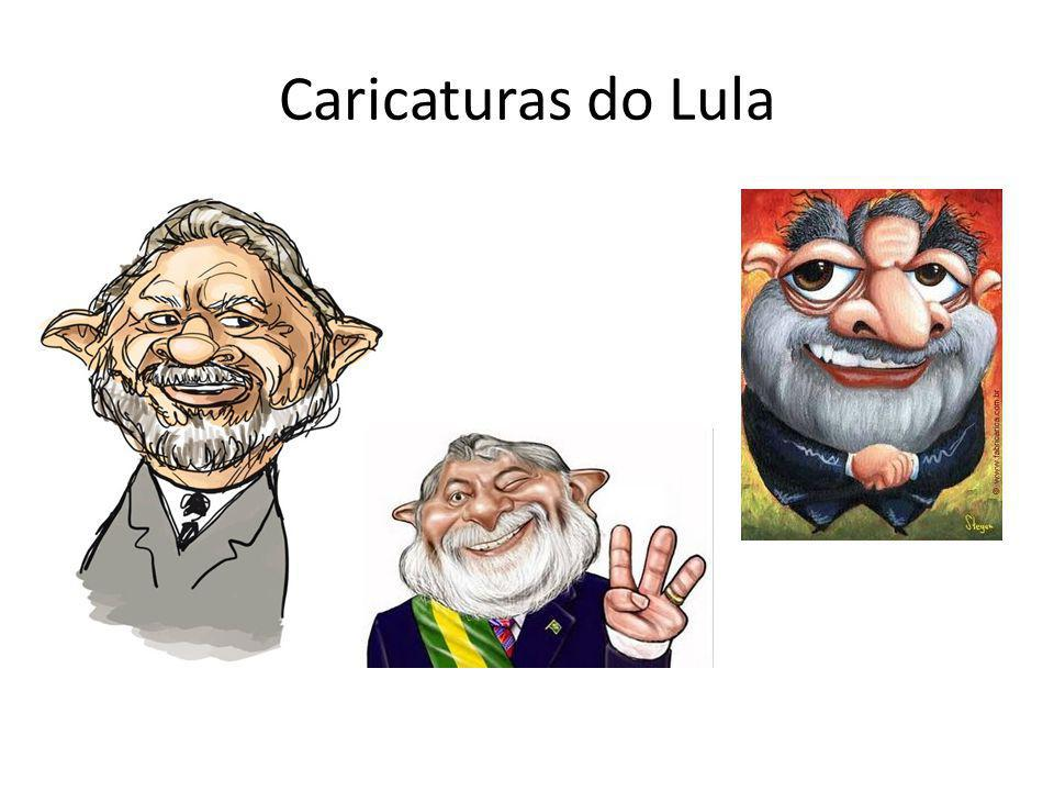 Caricaturas do Lula