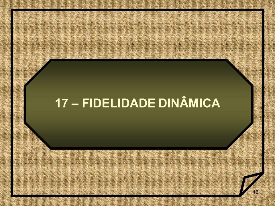48 17 – FIDELIDADE DINÂMICA