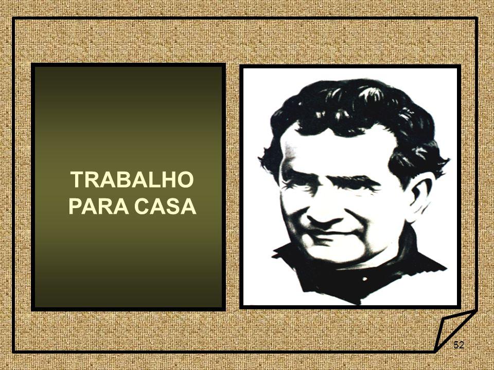 52 TRABALHO PARA CASA