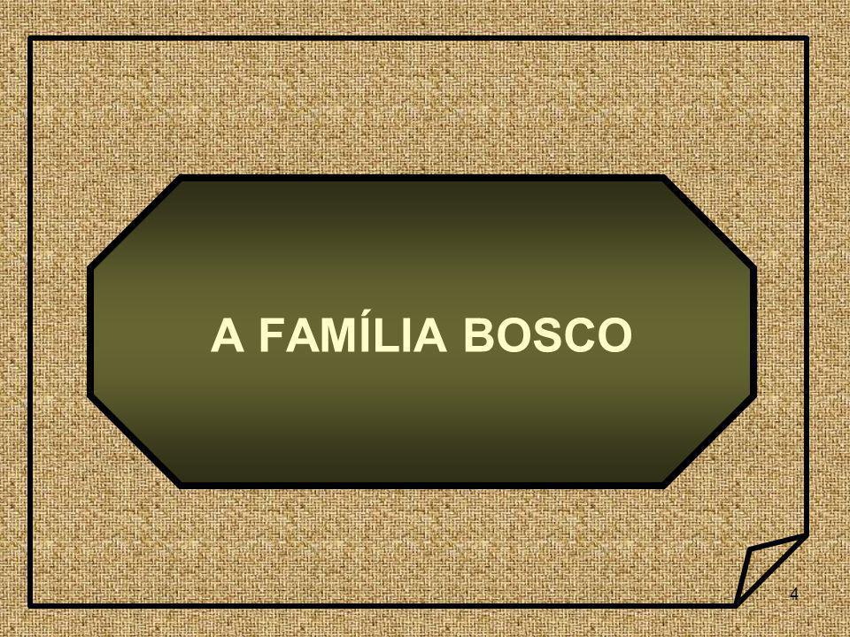 5 Eram seus pais Francisco Bosco e Margarida Occhiena, camponeses que com trabalho e economia ganhavam honestamente o pão de cada dia.