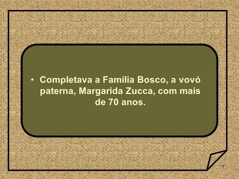 38 1- Quais foram os fatos mais marcantes da infância de Dom Bosco.