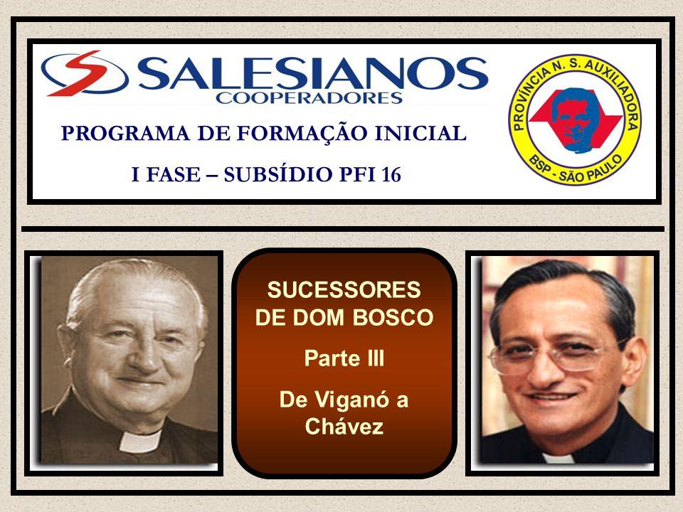 Por quase trinta anos desempenha tarefa de animação mundial da congregação como: Conselheiro Regional para a América Latina (Atlântico), Vigário do Reitor-Mor (90 – 96), e enfim Reitor-Mor dos Salesianos de 20 de março de 1995 até a morte, 23 de janeiro de 2002.