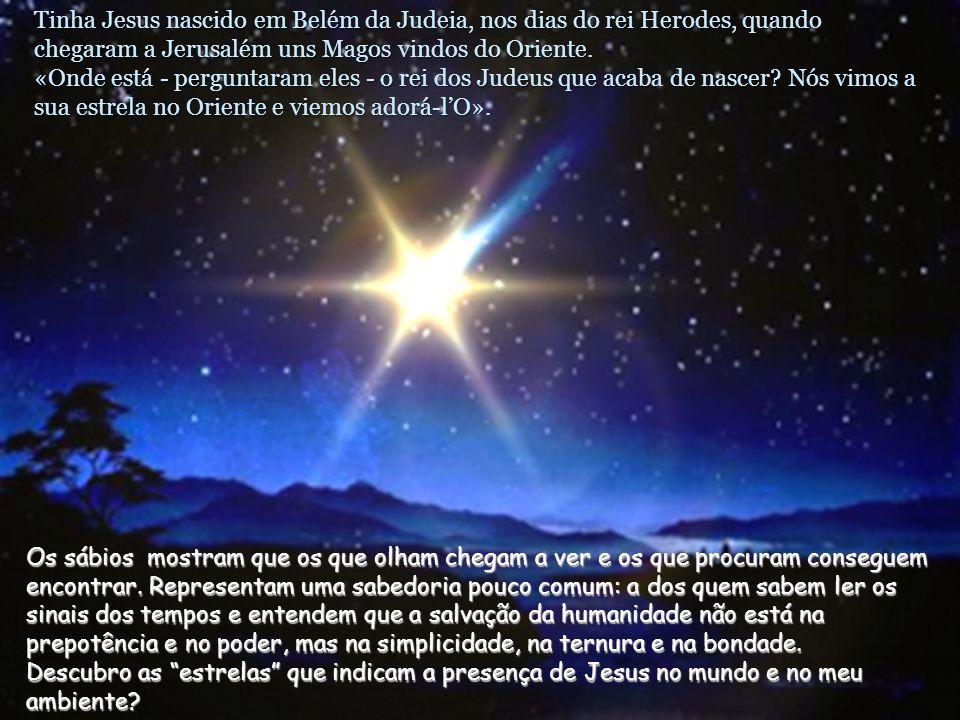 Texto: Mateus 2, 1-12. Epifania de Jesus –C- Comentários e apresentação: M.Asun Gutiérrez Cabriada. Música: Adeste Fideles. O nascimento de Jesus é Bo