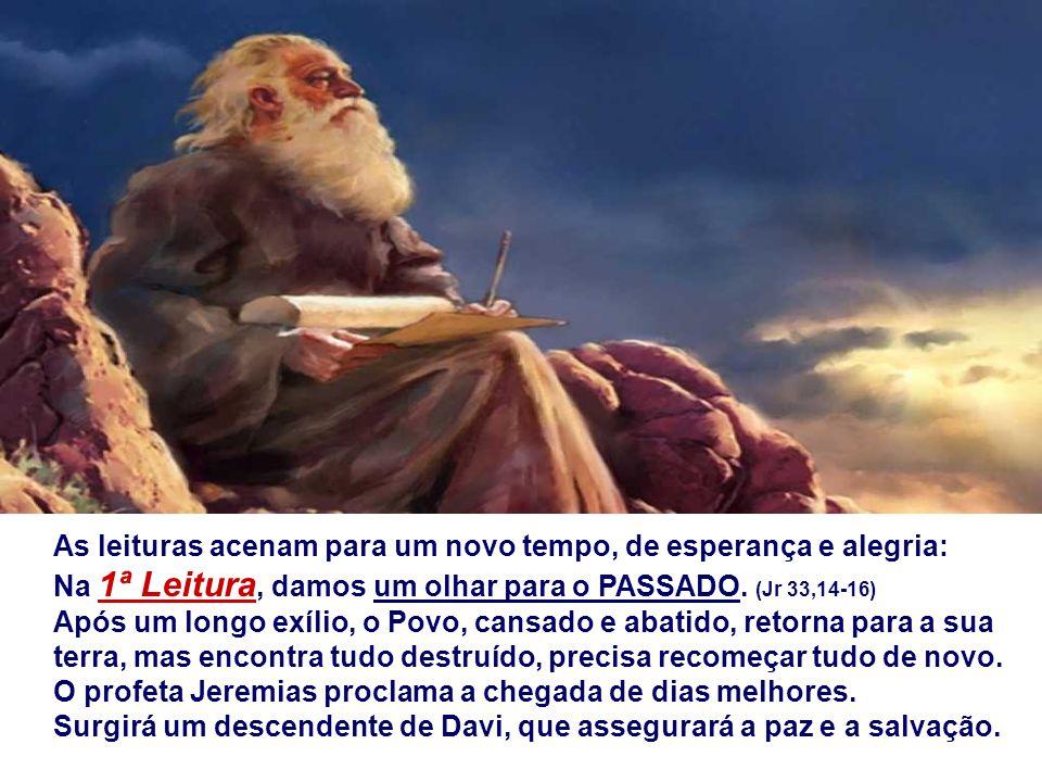 O ADVENTO é Tempo de ESPERA, em que celebramos: + Um fato passado: A Vinda histórica de Cristo, prometida a Abraão, lembrada pelos profetas, esperada