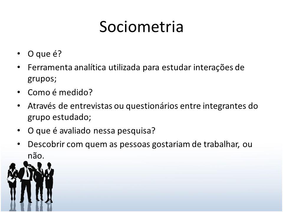 Sociometria O que é.