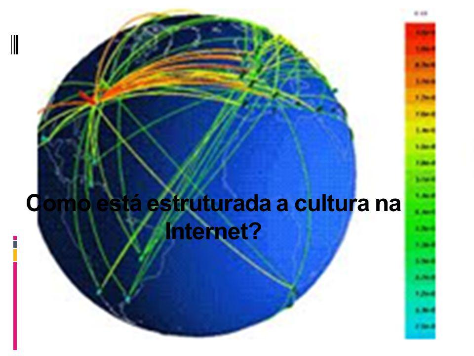 Como está estruturada a cultura na Internet?