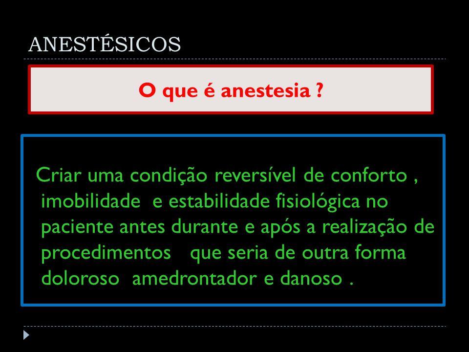 Amnésia Analgesia.