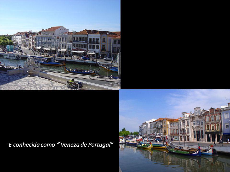 A Clima Aveiro é quente no verão e não muito fria no inverno.