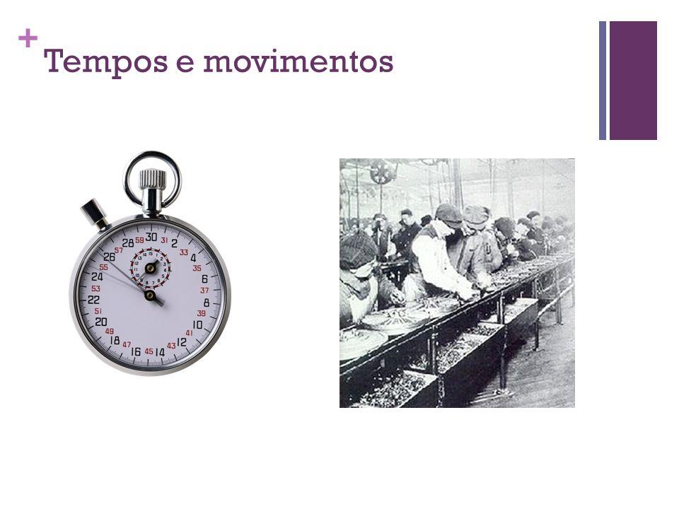 + Tempos e movimentos