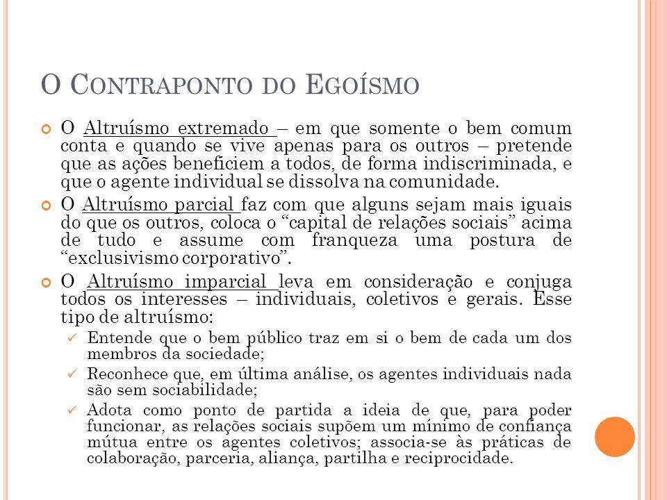 A LEGITIMAÇÃO ÉTICA Estariam os casos de necessidades livres dos padrões morais.