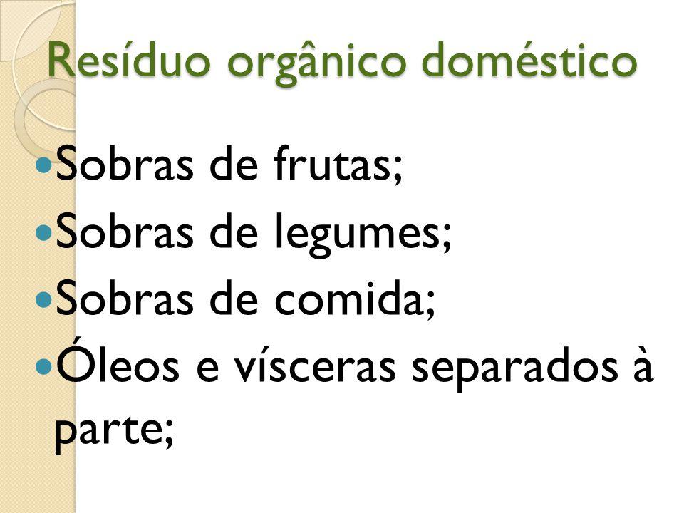 Casa limpa, mais saúde Resíduo orgânico não sai da residência; Resíduo orgânico volta para a cozinha na forma de frutas, legumes e verduras.